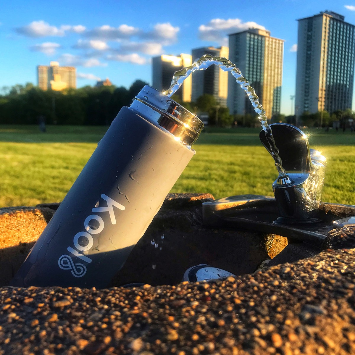 Kool8 Sleek Water Bottle